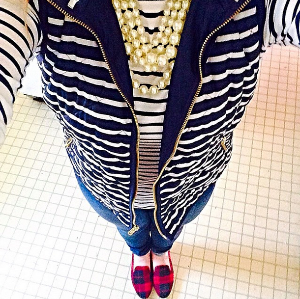 Stripes, stripes, stripes! - Pearls and Polkadots