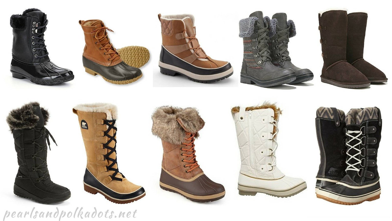 'Boot'iful Winter Boots that you will love! - Pearls and Polkadots