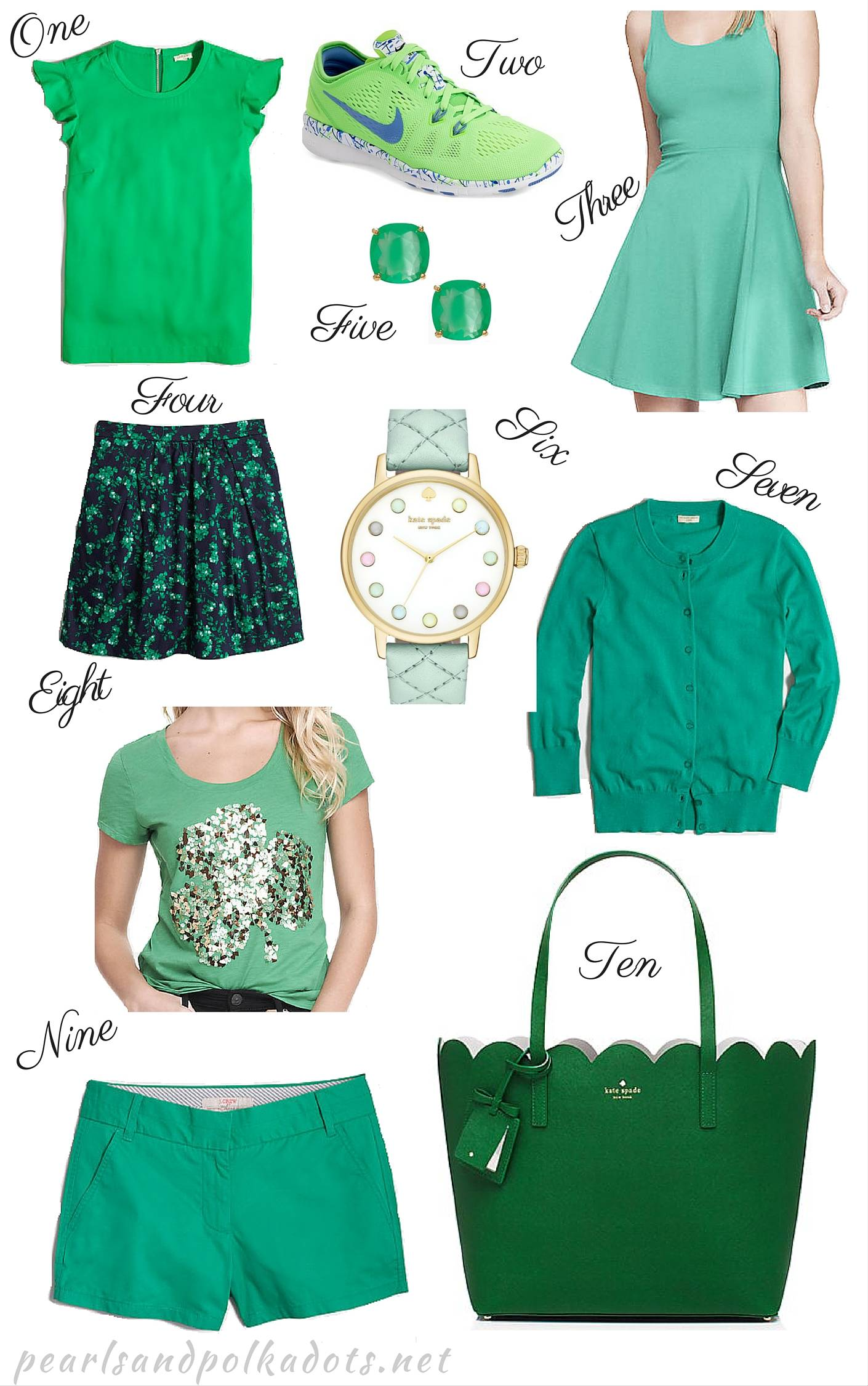 Happy St. Patrick's Day! - Pearls and Polkadots