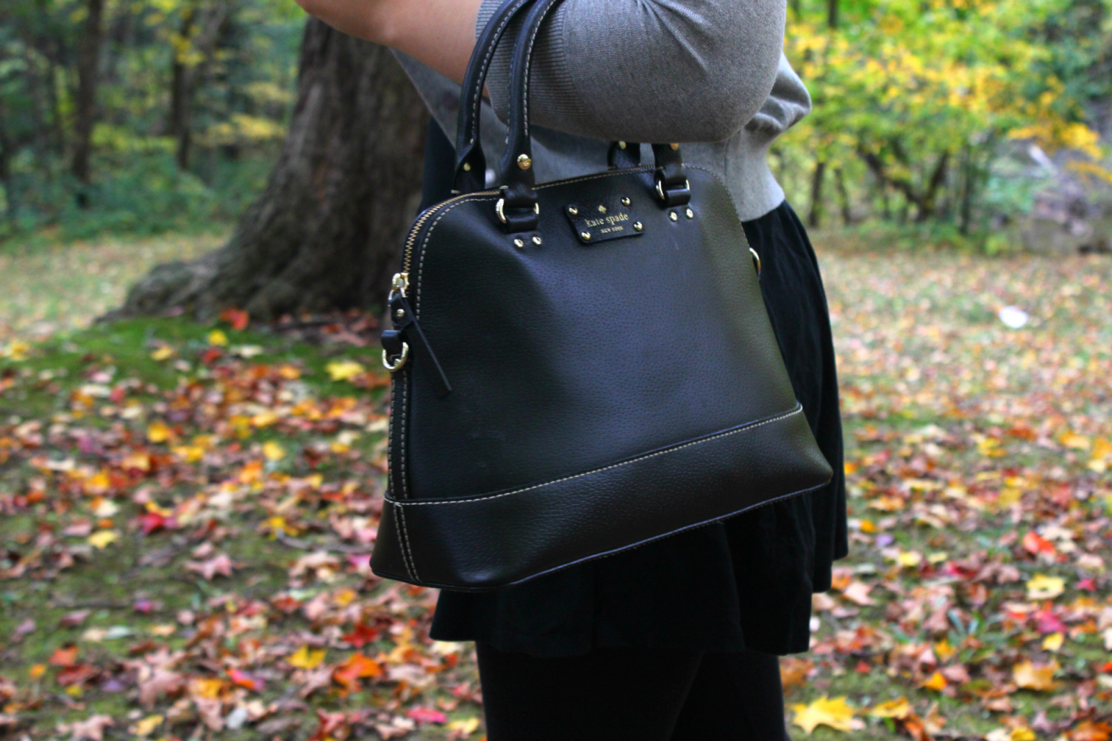 Classic in Black - Pearls and Polkadots