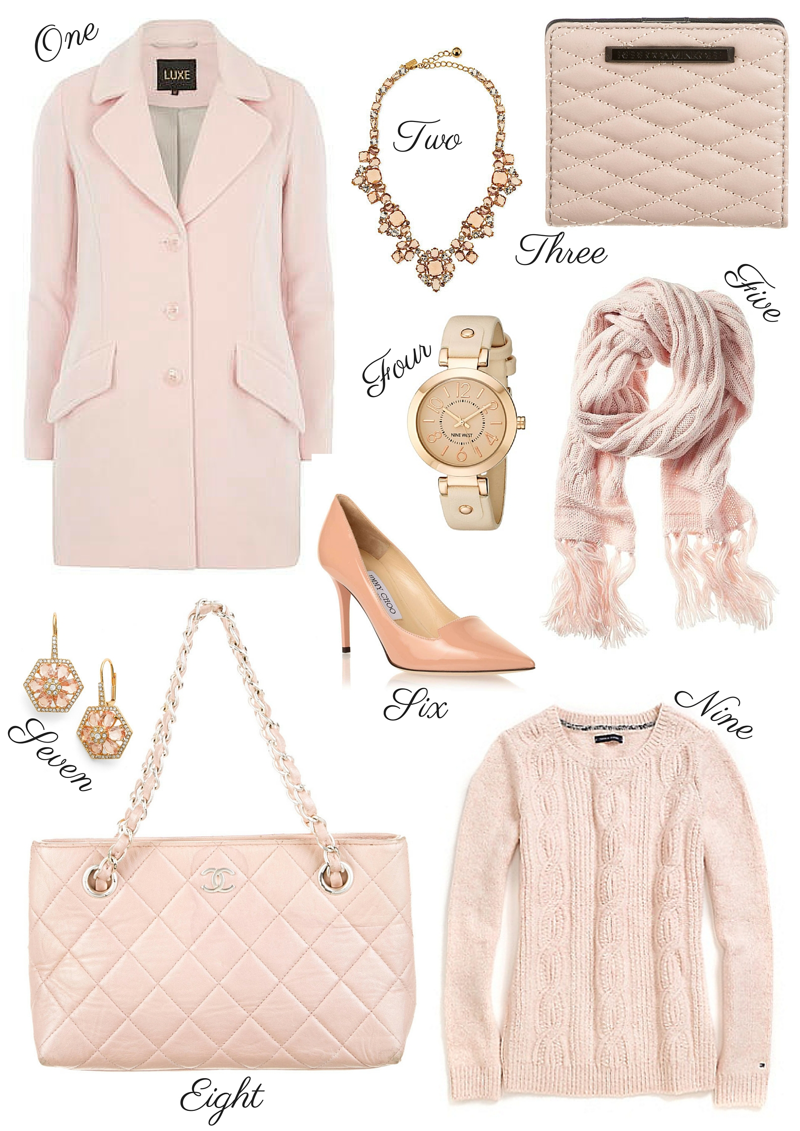 Incorporating Blush Pink into your Winter Wardrobe