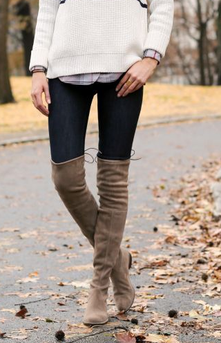 1ccf135e673 Over-the-Knee Boots  the Reality for a Short Girl