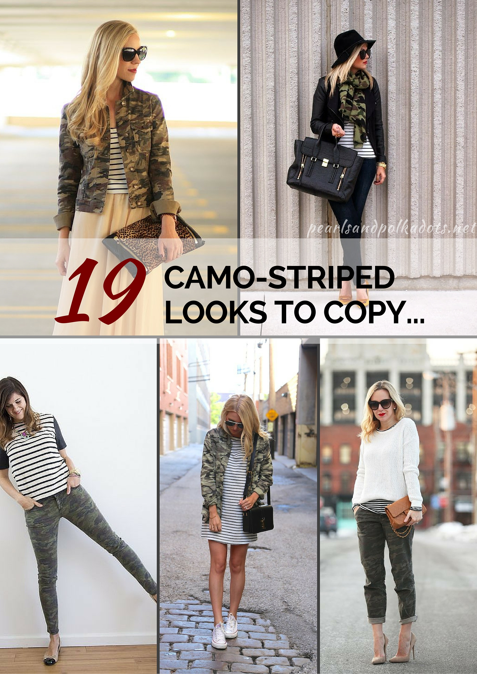 19 Camo-Stripe Looks to Copy…