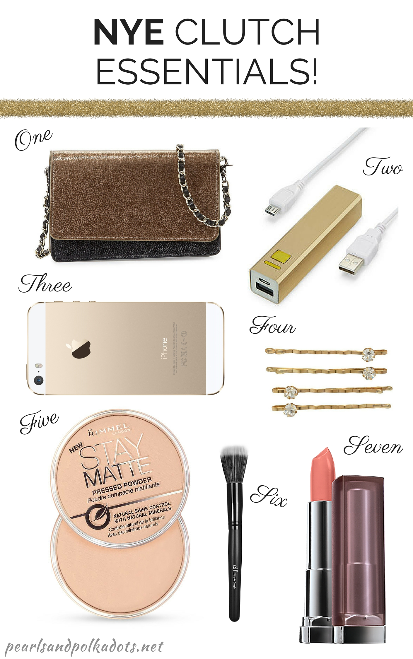 NYE Clutch Essentials