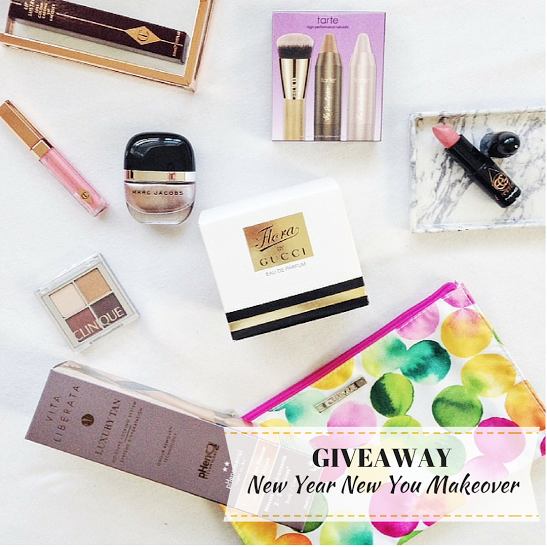 'New Year New You' Beauty Makeover Giveaway! - Pearls and Polkadots