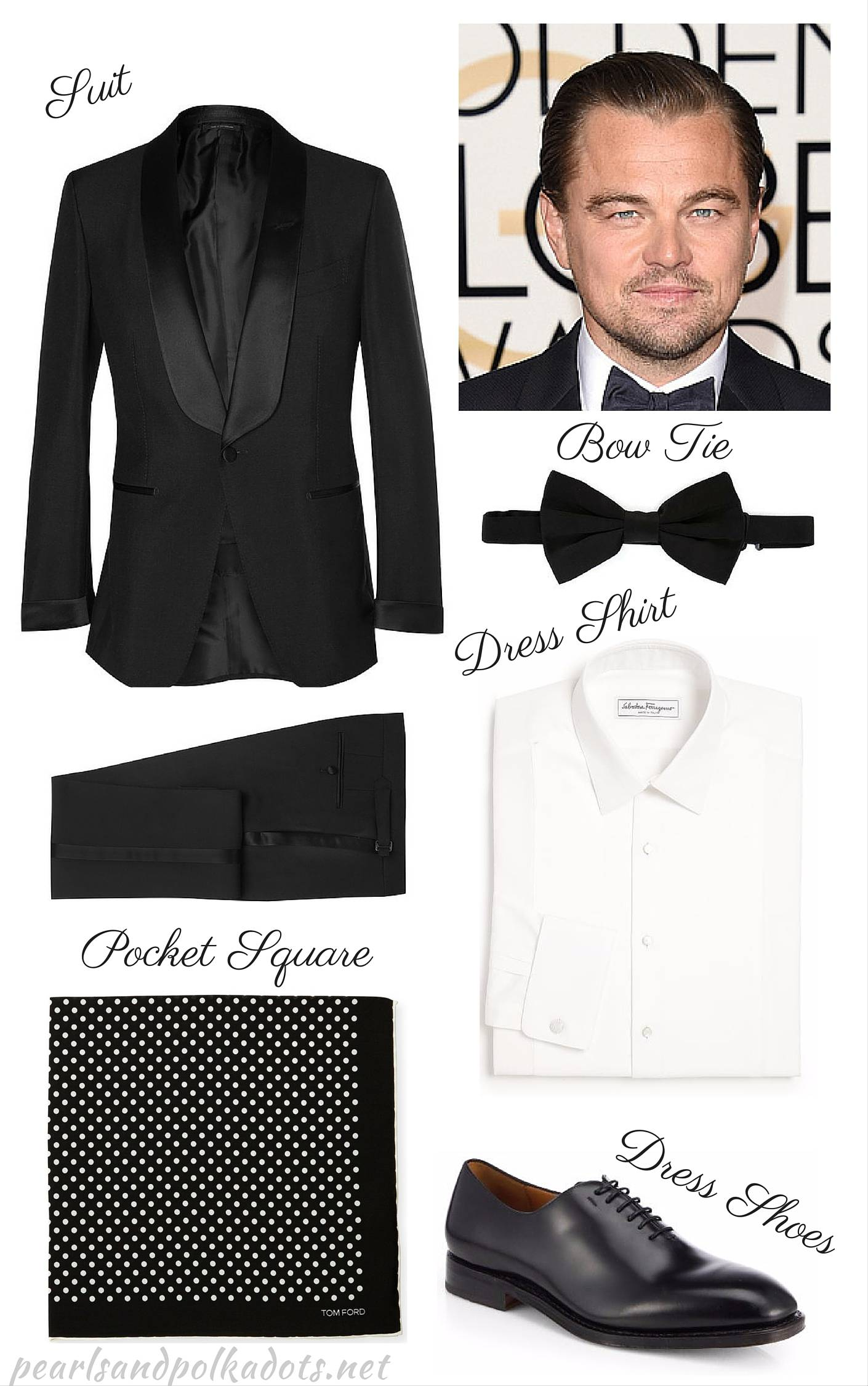 Stylin' the Stars: Leo Dicaprio - Pearls and Polkadots