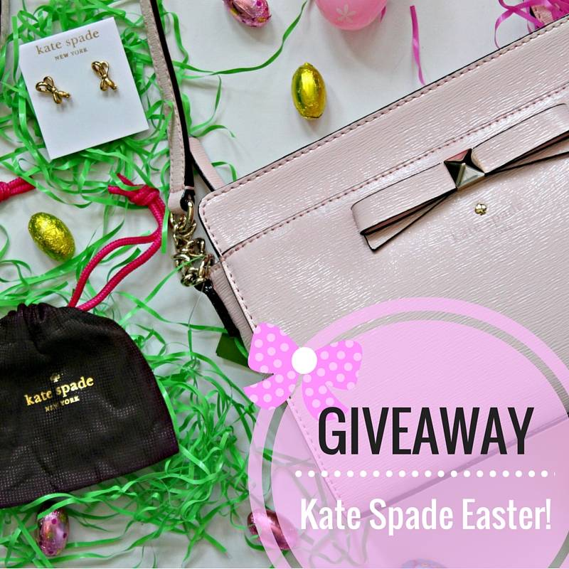 Kate Spade Easter Giveaway - Pearls and Polkadots