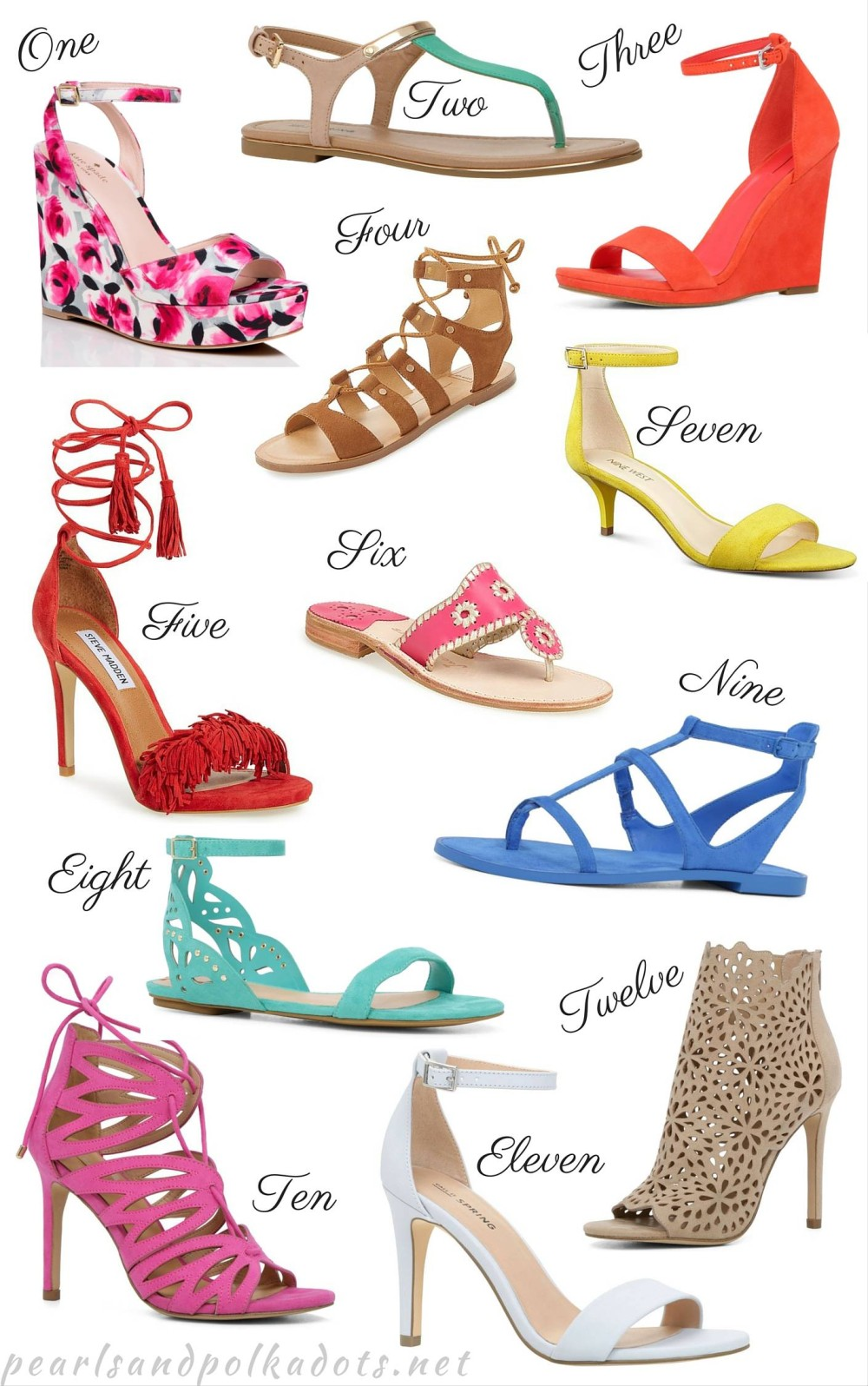 12 Pairs of Springy Shoes You Need this Season!