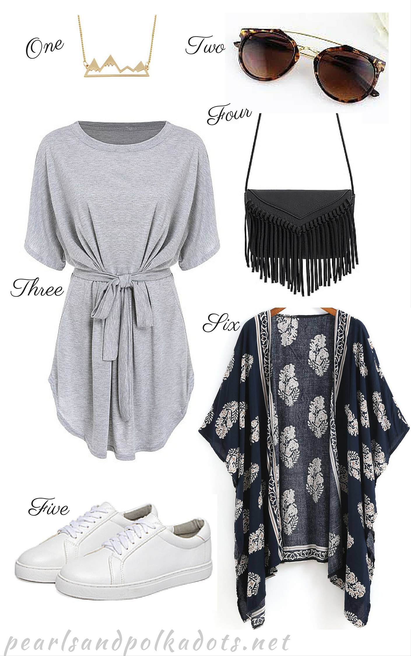 Spring Picks with Romwe - Pearls and Polkadots