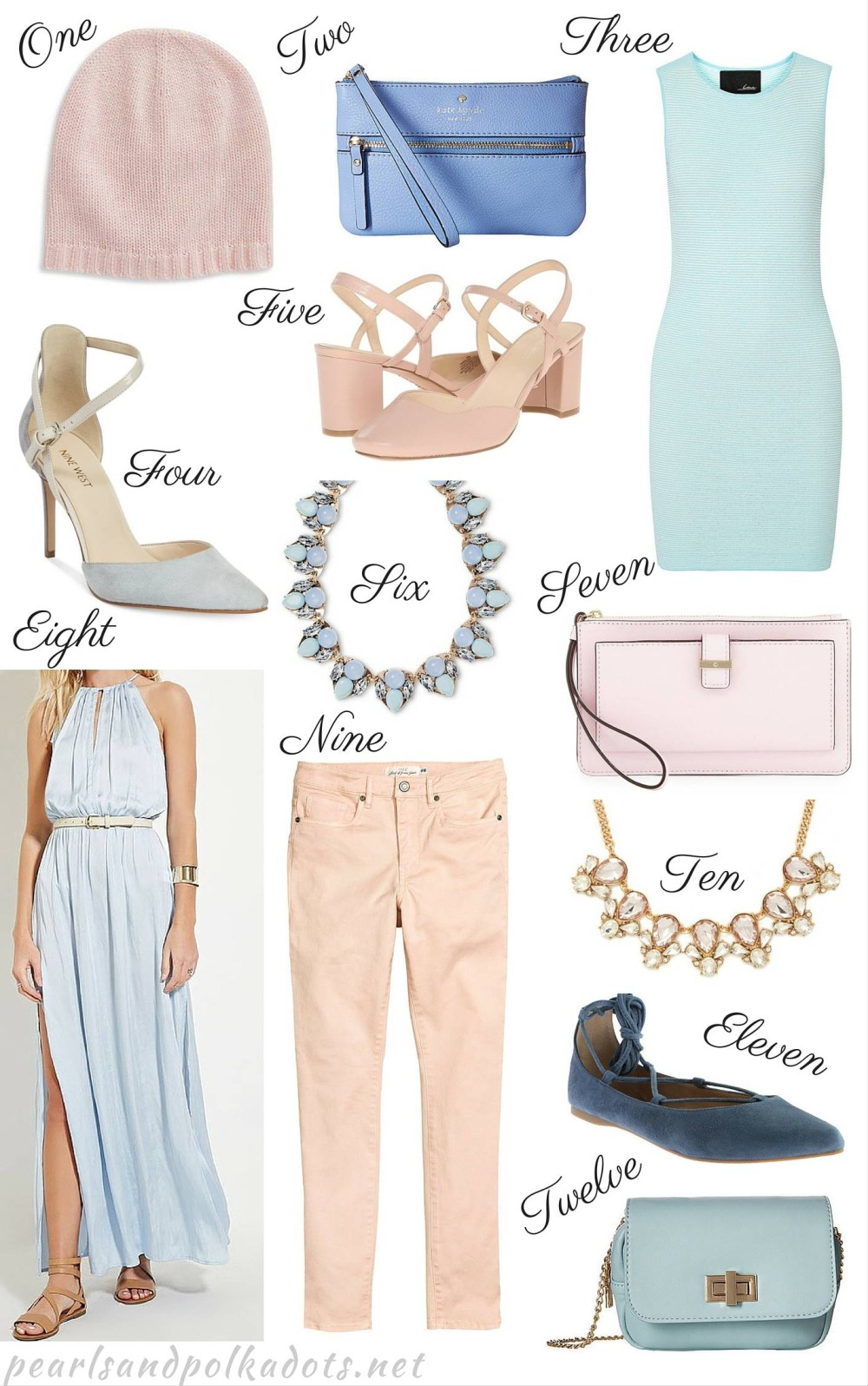 12 Pantone Coloured Items Under $100 - Pearls and Polkadots