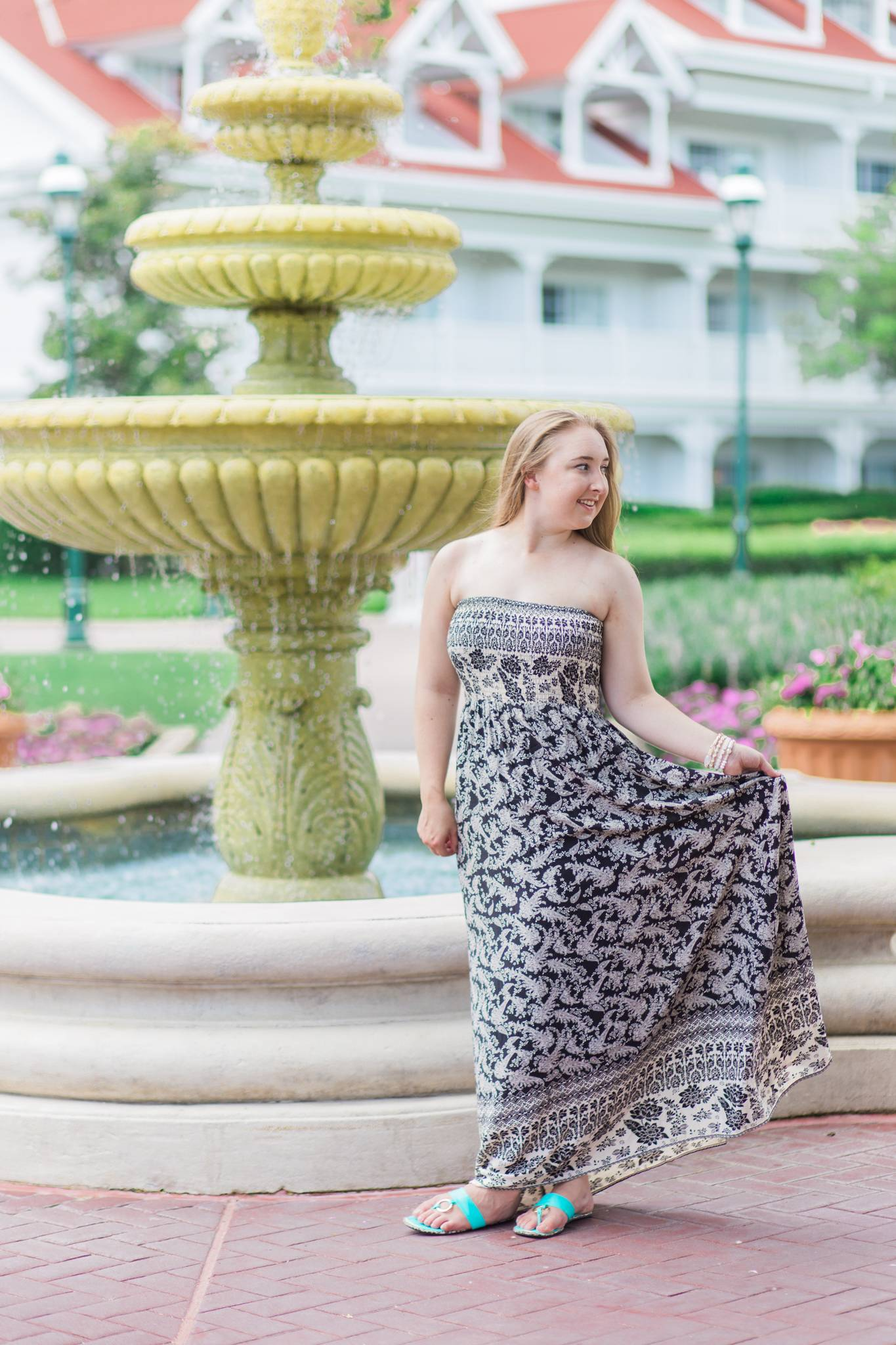 Strapless Maxis w/ Francesca's - Pearls and Polkadots