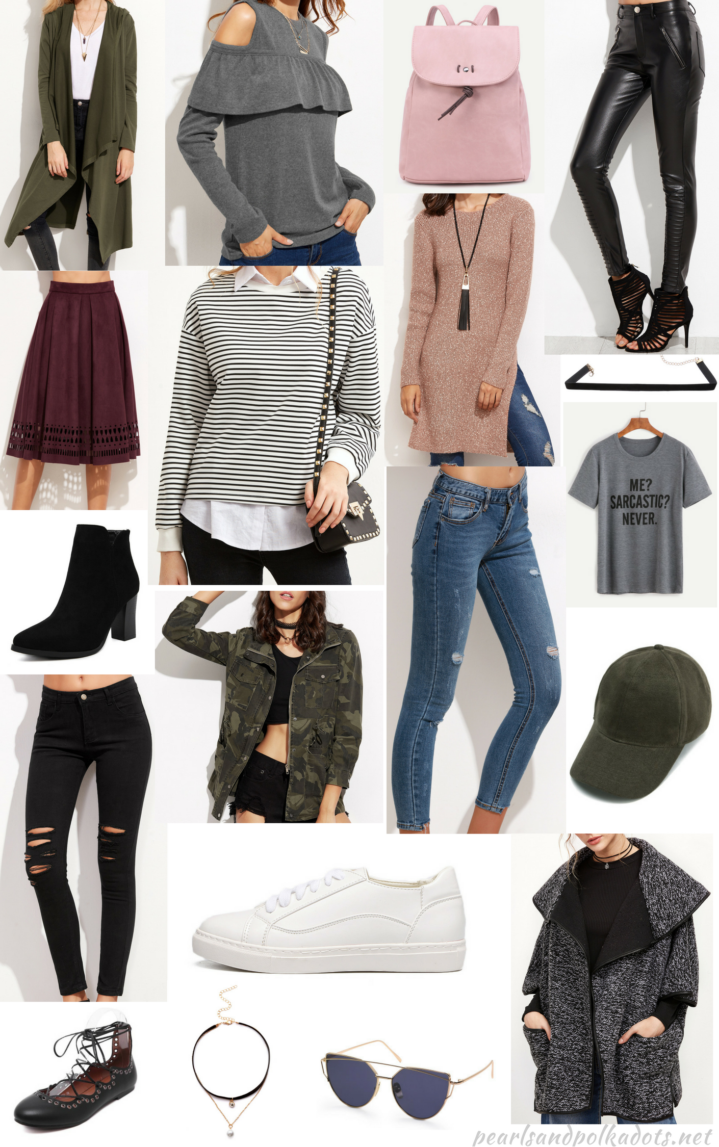 Fall picks with Shein - Pearls and Polkadots
