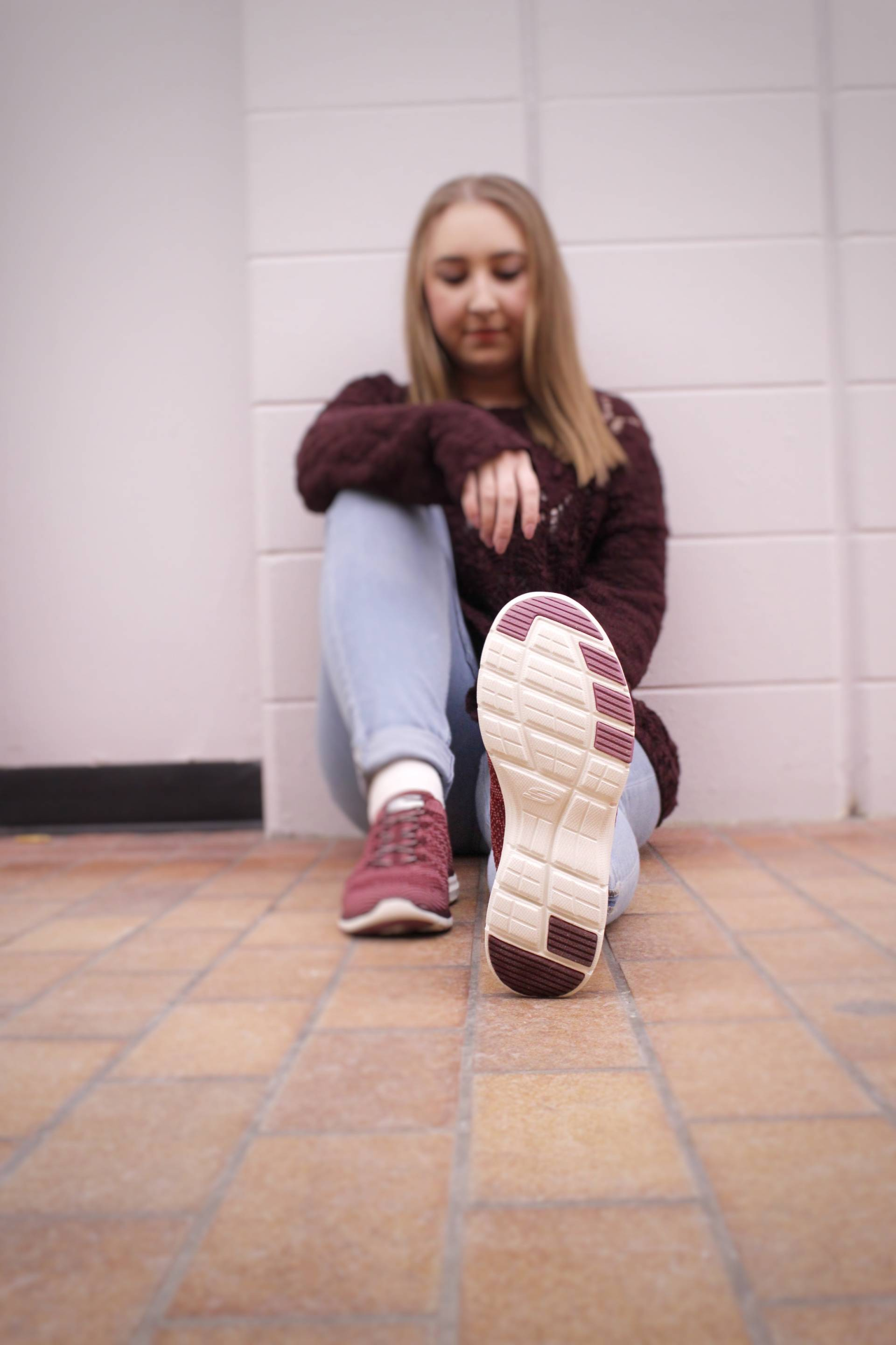 Getting comfy this Valentine's Day w/ Skechers - Pearls and Polkadots