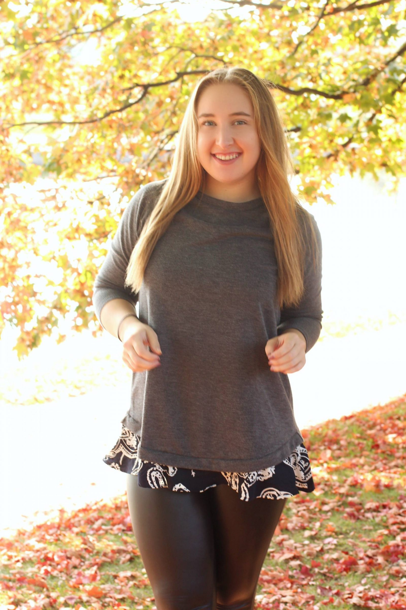 Keeping Cozy in Paisley Trim - Pearls and Polkadots: a style blog