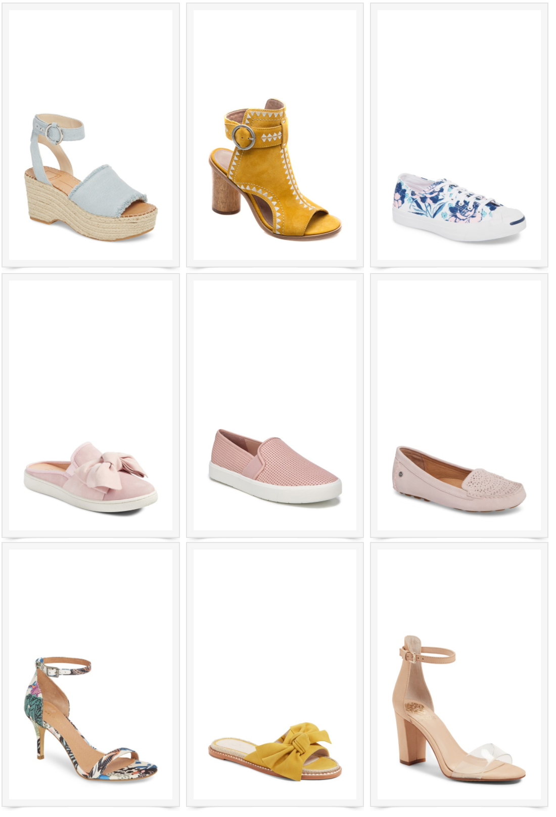 9 Spring Shoes for your Inner Fashionista